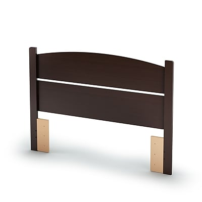South Shore Libra Full Laminated Particleboard Headboard 57.6''W, Chocolate (3159091)