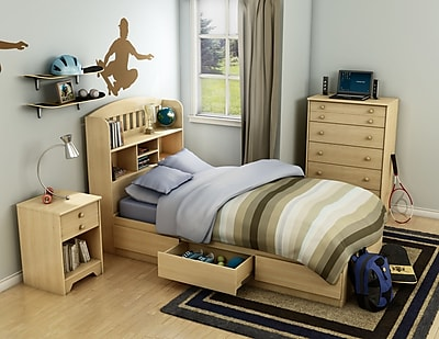 South Shore Popular Twin Mates Bed 39