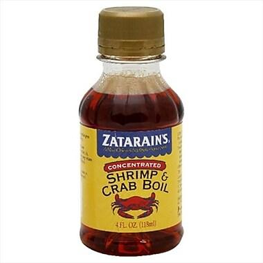 Zatarain's Seasoning Boil Liquid Shrimp-4 oz. - Pack Of 12 (KEHE7480)
