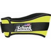 Schiek 6 in. Original Nylon Belt, Neon Yellow, 2XL (SCHK316)