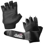 Schiek Sports Pink Womens Gel Lifting Gloves with Wrist Wraps, S (SCHK178)