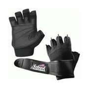 Schiek Sports Platinum Gel Lifting Gloves with Wrist Wraps, XS (SCHK171)