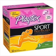 Playtex Tampon Sport, Super, Scented, 16 Count (MCDS1292)
