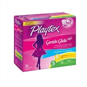 Playtex Gentle Glide Tampons, Plastic, Multi-Pack, Unscented, 36 Count (MCDS1289)
