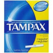 Tampax Regular Absorbency Tampons, 20 Count (MCDS1303)