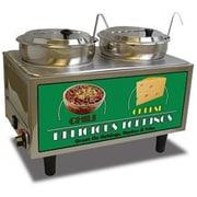 Benchmark USA Chili & Cheese Warmer, 2 Pumps - 2 Boxes (BNCMK153)