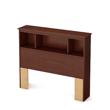 SouthShore Little Treasures Twin Laminated Particleboard Bookcase Headboard 39''W,Royal Cherry (3846098)