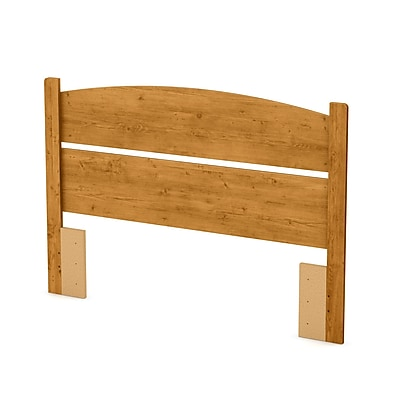 South Shore Libra Full Laminated Particleboard Headboard 57.6''W, Country Pine (3132091)