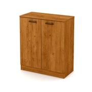 South Shore Axess 2-Door Storage Cabinet, Country Pine, (10188)