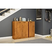 South Shore Axess Narrow Storage Cabinet, Country Pine, (10189)