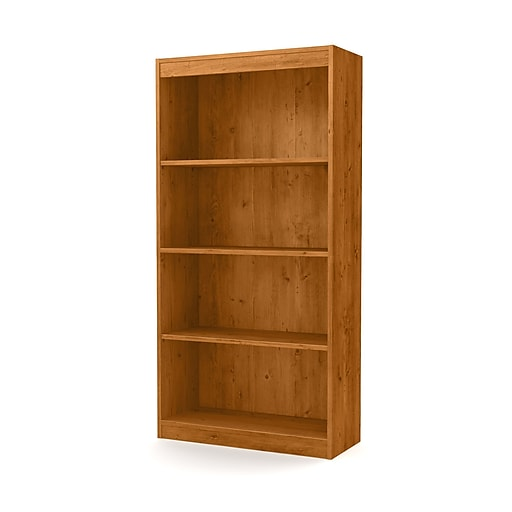 South Shore Axess 4 Shelf Bookcase 56 Country Pine 10131