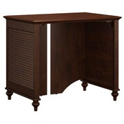 kathy ireland® Office by Bush Furniture Volcano Dusk 34W Desk, Coastal Cherry (ALA001CC)