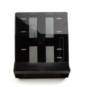 Mind Reader C-Fold and Multi-Fold Surface-Mounted Paper Towel Dispenser, Black (PTFOLD-BLK)