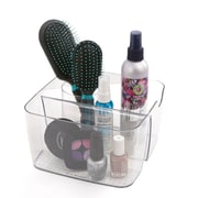 Mind Reader - Organisateur à cosmétiques en acrylique à 5 compartiments, transparent (Makeup5-Clr)