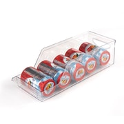 Mind Reader Stackable Acrylic Soda Can Holder, Clear, 2/Pack (Scanorg2-Clr)