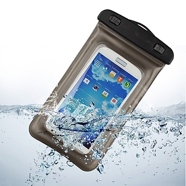 Gray Universal Waterproof Case Dry Bag Cellphone Case Ideal for Water Sports