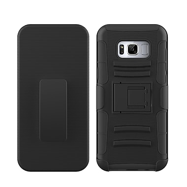 Black Hybrid Protective Case for Samsung Galaxy S8 Plus