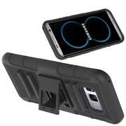 Hybrid Heavy Duty Holster Case with Stand for Galaxy S8
