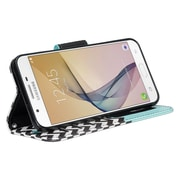 Wallet Case for Samsung Galaxy J7 with Stand with anchor design