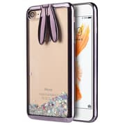 Sparkling Waterfall Bunny Ear Stand Case for iphone 7