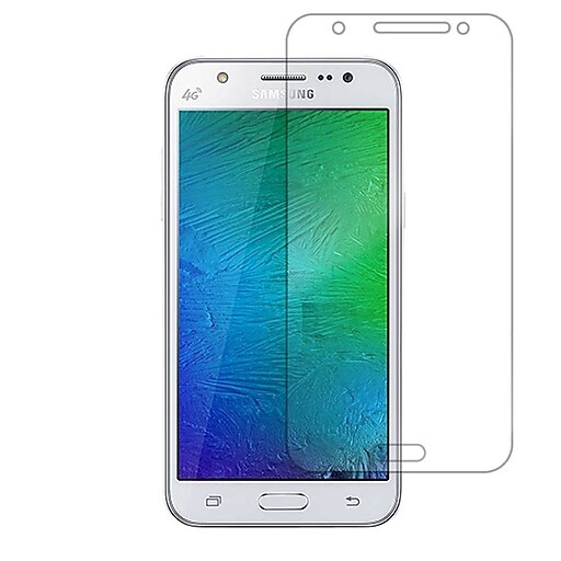 cheap for discount 57d23 32833 Anti-Scratch Shatterproof Tempered Glass Screen Protector for Samsung  Galaxy J7