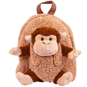 Vangoddy Plush Monkey Kid Backpack, Brown (PT_KKIBKP002_MO)