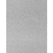 LUX 8 1/2 x 11 Paper 500/Pack, Silver Sparkle (81211-P-MS01500)