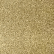 LUX 12 x 12 Paper 50/Pack, Gold Sparkle (1212-P-MS02-50)