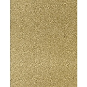 LUX 8 1/2 x 11 Paper 50/Pack, Gold Sparkle (81211-P-MS02-50)
