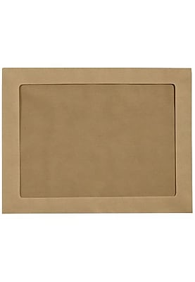 LUX 10 x 13 Full Face Window Envelopes 500/Pack, Grocery Bag (FFW-1013-GB-500)