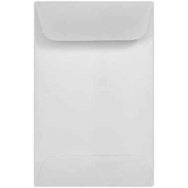 LUX #1 Coin Envelopes (2 1/4 x 3 1/2) 500/Pack, 24lb. Clear Translucent (1CO-CT-500)