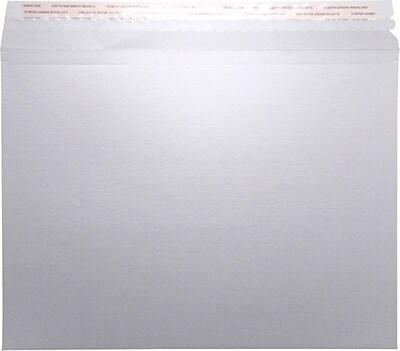 LUX Mailers (9 1/2 x 12 1/2) 50/Pack, Silver Metallic (LUXMLR-M06-50)