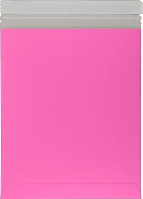 LUX 6 x 9 Colored Paperboard Mailers 1000/Pack, Bright Fuchsia (69PBM-BF-1000)