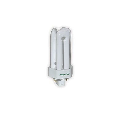 Bulbrite Compact Fluorescent (CFL) T4 18W Plug In 3500K Neutral White Light Bulb, 10 Pack (524328)