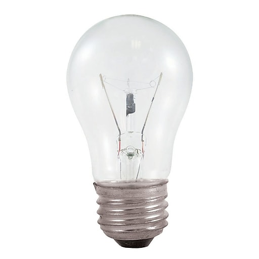 Bulbrite 40w Equivalent Warm White Light G16 Dimmable Led: Bulbrite Incandescent (INC) A15 40W Dimmable Appliance