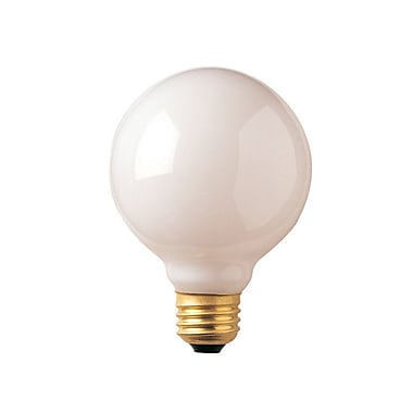 Bulbrite Incandescent (INC) G25 40W Dimmable 2700K Warm White Light Bulb, 24 Pack (393004)