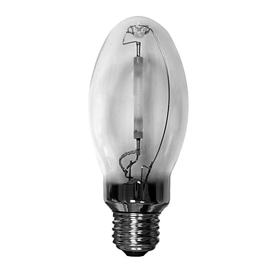 Bulbrite High Intensity Discharge (HID) ED17 50W Clear 2000K Amber Light Bulb, 2 Pack (661050)