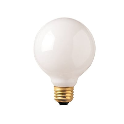 Bulbrite Incandescent (INC) G30 40W Dimmable 2700K Warm White Light Bulb, 12 Pack (340040)
