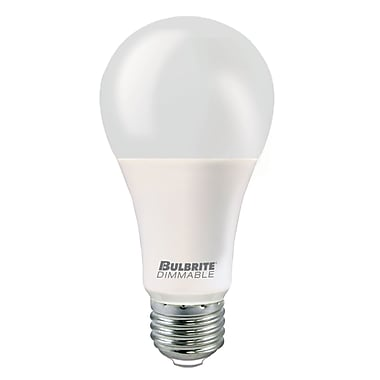 Bulbrite LED A21 15.5W Dimmable 2700K Warm White Light Bulb, 3 Pack (774103)