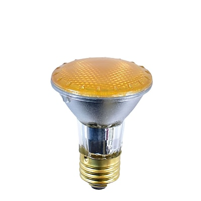 Bulbrite Halogen PAR20 50W Dimmable 2900K Yellow Light Bulb, 4 Pack (683508)