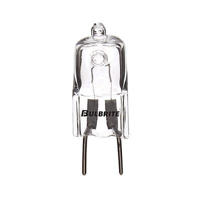 Bulbrite Halogen T4 35W Dimmable Clear 2900K Soft White Light Bulb, 5 Pack (655035)