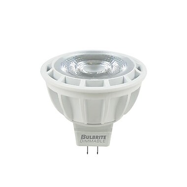Bulbrite LED MR16 9W Dimmable 3000K Soft White Light Bulb, 1 Pack (771328)