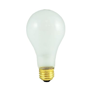 Bulbrite Incandescent (INC) A21 150W Dimmable Frost 2700K Warm White Light Bulb, 12 Pack (100151)