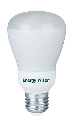 Bulbrite Compact Fluorescent (CFL) R20 11W 5000K Soft Daylight Light Bulb, 4 Pack (511302)
