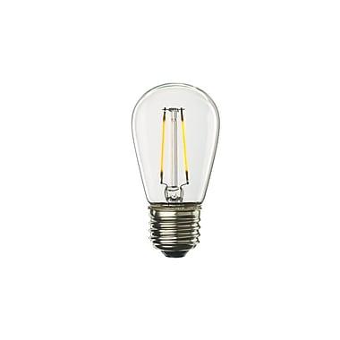 Bulbrite LED S14 2.5W Dimmable 2700K Warm White Light Bulb, 4 Pack (776651)
