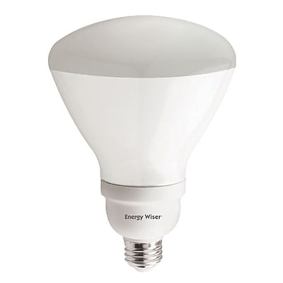 Bulbrite Compact Fluorescent (CFL) R40 23W Dimmable 2700K Warm White Light Bulb, 2 Pack (514223)