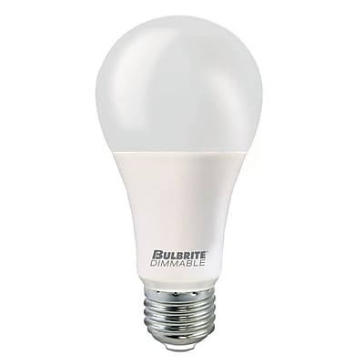 Bulbrite LED A21 13W Dimmable 2700K Warm White Light Bulb, 3 Pack (774102)