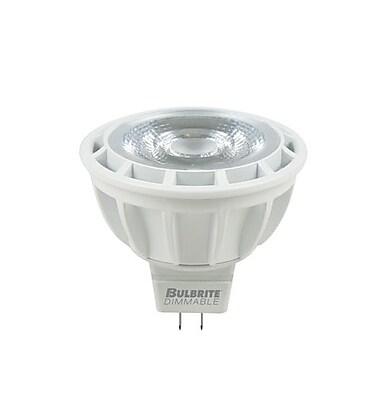 Bulbrite LED MR16 8W Dimmable 2700K Warm White Light Bulb, 1 Pack (771301)