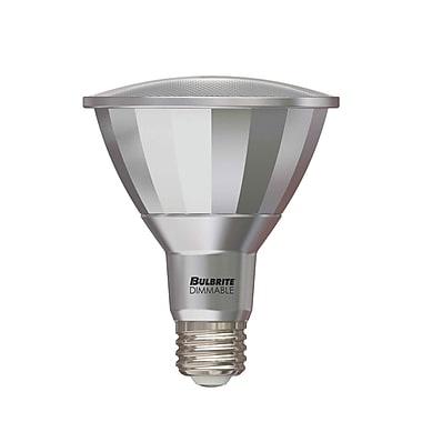 Bulbrite LED PAR30LN 13W Dimmable Outdoor Rated 3000K Soft White 40D Light Bulb, 2 Pack (772631)