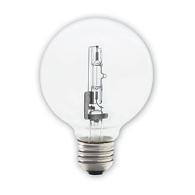 Bulbrite Halogen G25 72W Dimmable Clear 2900K Soft White Light Bulb, 8 Pack (616472)